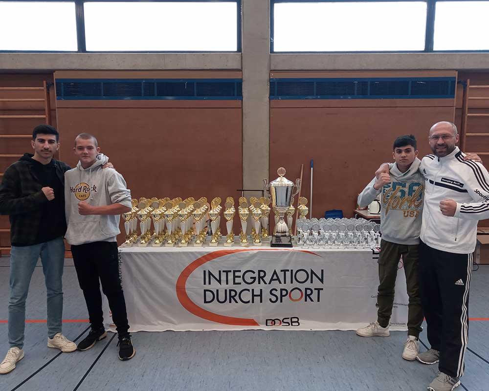 Integrationswanderpokal Geretried am 26.10.2019