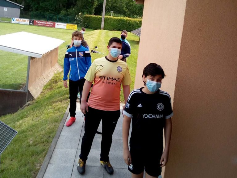 C-Jugend nimmt Trainingsbetrieb wieder auf