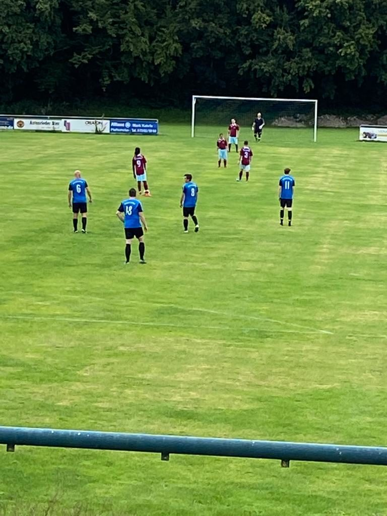 Testspiel gegen SG Waldstetten/Autenried II